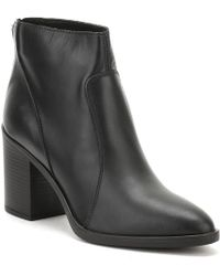 TOWER London - Womens Black Skin Leather Ankle Boots - Lyst
