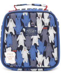 Joules - Black Multi Bear Camo Munch Bag - Lyst