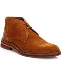 Ted Baker - Mens Tan Azzlan Ankle Boots - Lyst