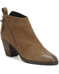 Cara - Womens Bark Brown Nubuck Scout Ankle Boots Women's Low Ankle Boots In Brown - Lyst