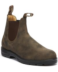 Blundstone - 585 Mens Rustic Brown Boots - Lyst