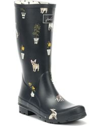 Joules Roll Up Womens Welly S/s
