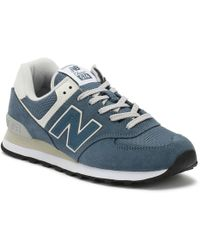 New Balance - Womens Light Petrol Blue 574 Classic Trainers - Lyst
