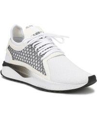 PUMA - Mens White   Black Tsugi Netfit V2 Trainers Men s Shoes (trainers) In 8f3cdb819
