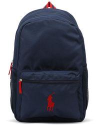 Ralph Lauren - Navy / Red Academy Backpack - Lyst