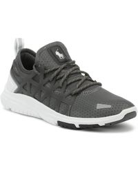 Ralph Lauren - Mens Charcoal Grey / White Train 200 Trainers - Lyst