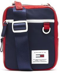 3ed584787 Tommy Hilfiger - Tommy Jeans Urban Reporter Corporate Navy Bag - Lyst