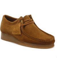 Clarks Originals Wallabee Mens Cola Shoes