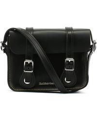 Dr. Martens - Dr. Martens Black Kiev Leather Satchel -7-inch - Lyst