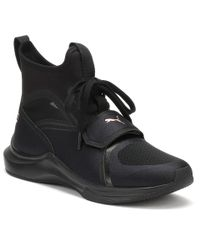 9010601fa198fb PUMA - Womens Selena Gomez Black Phenom Trainers Women s Shoes (high-top  Trainers)