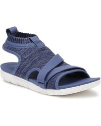Fitflop - Womens Indian Blue Uberknittm Back-strap Sandals - Lyst