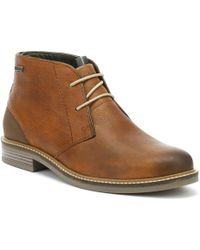 Barbour - Mens Cognac Brown Readhead Boots - Lyst