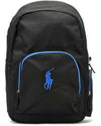 Ralph Lauren - Black / Royal Campus Backpack - Lyst
