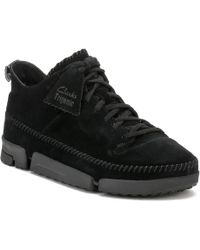 Clarks - Mens Black Trigenic Dry Gtx Trainers - Lyst