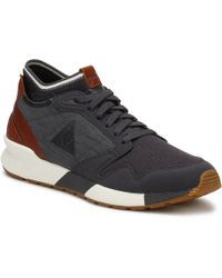 Le Coq Sportif - Mens Nine Iron Grey Omicron Craft Trainers - Lyst