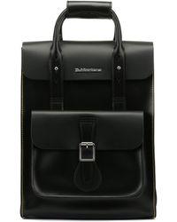 Dr. Martens - Dr. Martens Black Kiev Leather Small Backpack - Lyst
