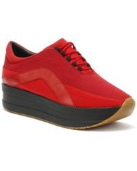 Vagabond - Womens Red Casey Trainers - Lyst