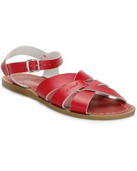 Salt Water - Womens Red Original Sandals - Lyst