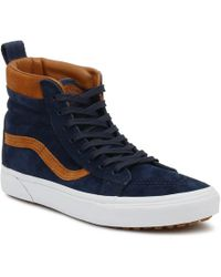 aded319f62 Vans Sneakersball Era Suede And Suitting Dress Blue Men s Shoes ...