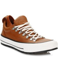 converse ctas descent quilted leather ox