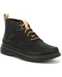 Dr. Martens - Dr. Martens Mens Black Mesa Waxy Flloyd Boots Men's Mid Boots In Black - Lyst