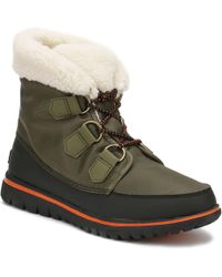 Sorel - Womens Nori Green / Black Cosy Carnival Boots Women's Snow Boots In Green - Lyst