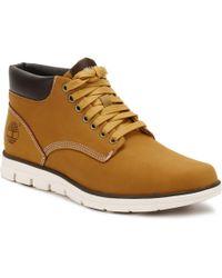 Timberland S Mens Wheat Bradstreet Chukka Boots