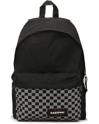 Eastpak - Grey Weave Padded Pak'r Backpack - Lyst