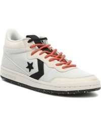 Converse - Fastbreak Mens Pale Putty Mid Trainers - Lyst