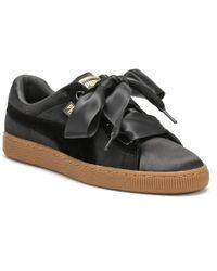Lyst - PUMA Suede Platform Core Gum Women s Shoes (trainers) In ... 19259e12d