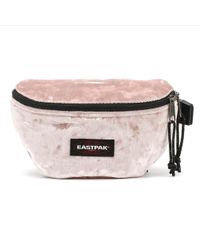 Eastpak - Crushed Pink Springer Hip Bag - Lyst