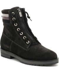 Tommy Hilfiger - Womens Black West 9b1 Ankle Boots - Lyst