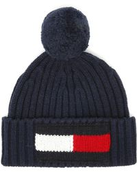 059d0cbd Tommy Hilfiger Flag Cap In Navy - Navy in Blue - Lyst