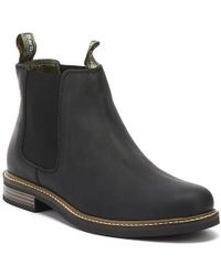 Barbour Farsley Mens Black Chelsea Boots