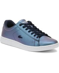 Lacoste - Womens Navy Carnaby Evo 318 5 Trainers - Lyst