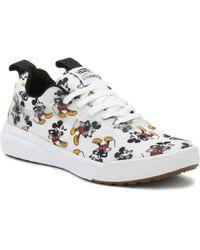 Vans - Disney Ultrarange Rapidweld Mickey Mouse White Trainers - Lyst
