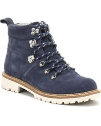 TOMS - Summit Women's Mid Boots In Blue - Lyst