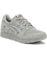 Asics - Gel-lyte Mens Mid Grey Sneakers - Lyst