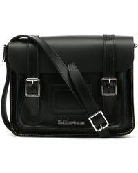 Dr. Martens - Dr. Martens Black Kiev Leather Satchel -11-inch - Lyst