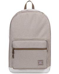 ec9a40b6d3a8 Herschel Supply Co. Light Khaki Crosshatch Pop Quiz Backpack for Men ...