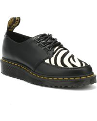 Dr. Martens - Dr. Martens Ramsey Zebra Womens Black Shoes - Lyst