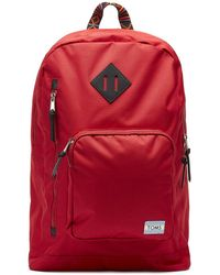 TOMS Red High Road Backpack