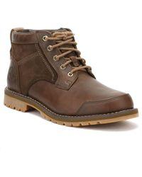 Timberland - Larchmont Mens Gaucho Dark Brown Chukka Boots - Lyst