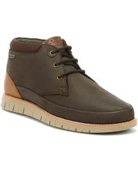 Barbour - Mens Brown Nelson Boots - Lyst