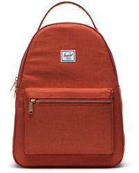 Herschel Supply Co. Nova Mid-volume Picante Crosshatch Backpack - Orange
