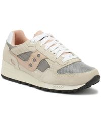 Saucony - Shadow 5000 Mens Off White / Grey / Pink Trainers - Lyst