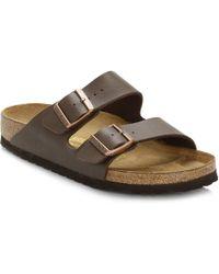 Birkenstock Men's 'arizona' Double Strap Sandals - Brown