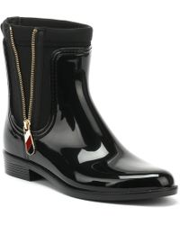 Tommy Hilfiger - ''s Material Mix Rain Boot Wellington - Lyst