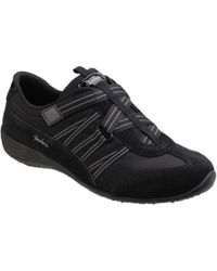 Skechers - Unity Existent Black/charcoal Trainers - Lyst
