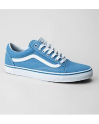 5dad71359a Vans - Old Skool (canvas) Cendre Blue-true White Trainers - Lyst